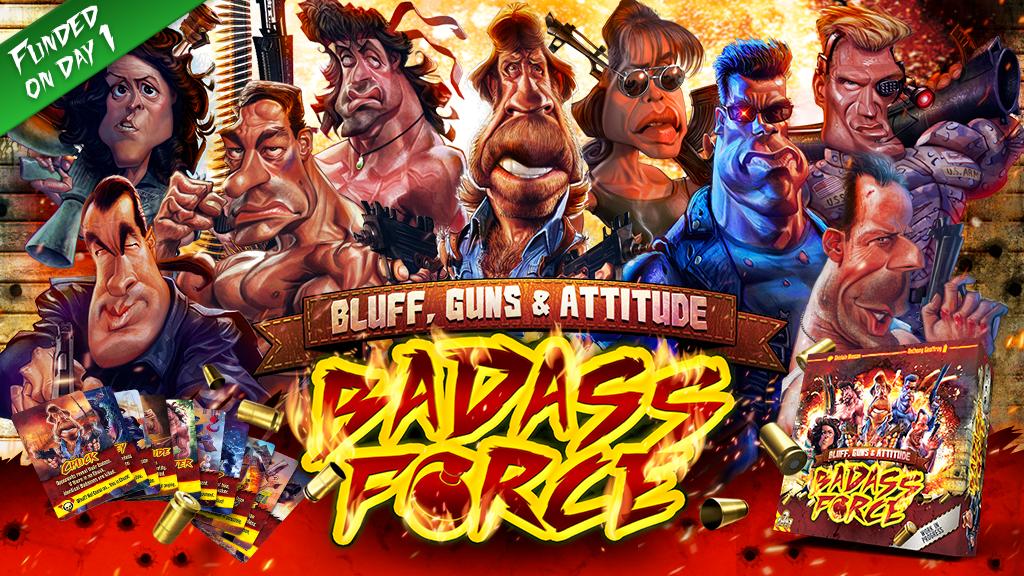 Badass Force sur Kickstarter Image-projet